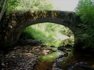 1  pont voûté sur la Rançon